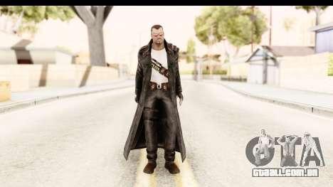 Marvel Heroes - Blade para GTA San Andreas segunda tela