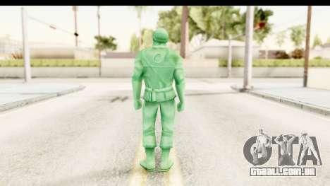 ArmyMen: Serge Heroes 2 - Man v2 para GTA San Andreas terceira tela