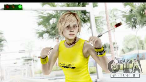 Silent Hill 3 - Heather Sporty Yellow Glasses para GTA San Andreas