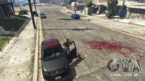 GTA 5 Extreme Blood 0.1 quarto screenshot