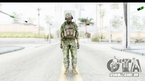 Croatian Soldier para GTA San Andreas segunda tela