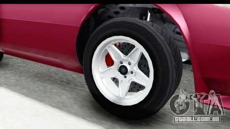 GTA 5 Lampadati Tropos Rallye No Headlights para GTA San Andreas vista traseira