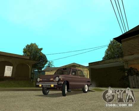 ZAZ 968M Arménia para GTA San Andreas
