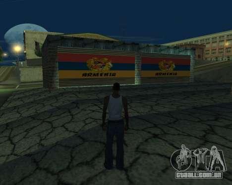 Nova garagem Arménia para GTA San Andreas terceira tela