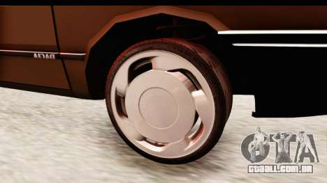 Dacia 1310 LI para GTA San Andreas vista traseira