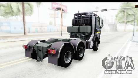 Tatra Phoenix Agro Truck v1.0 para GTA San Andreas traseira esquerda vista