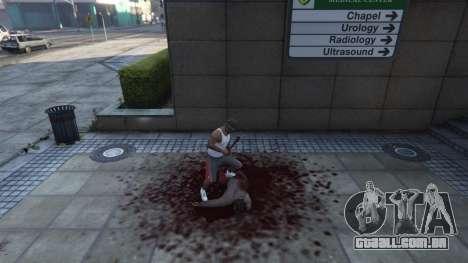 GTA 5 Extreme Blood 0.1 quinta imagem de tela