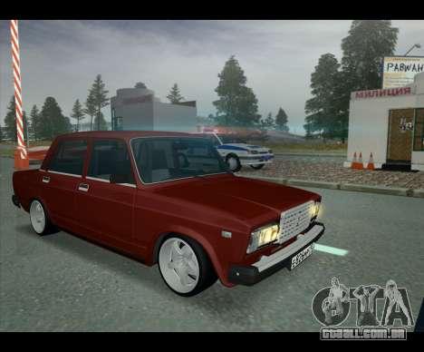 Lada 2107 Jiguar para GTA San Andreas