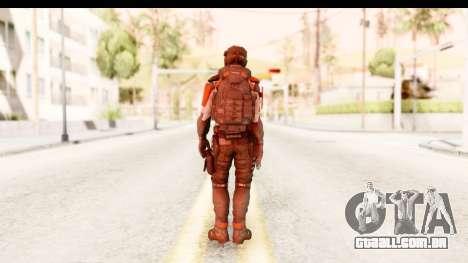 Homefront The Revolution - KPA v2 Captain para GTA San Andreas terceira tela