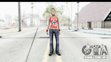 Silent Hill 3 - Heather Sporty Red Duff Beer para GTA San Andreas segunda tela