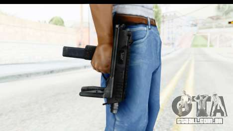 Brügger & Thomet MP9 para GTA San Andreas terceira tela