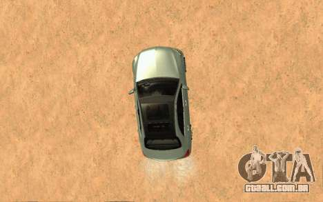 Mercedes-Benz C250 Armenian para GTA San Andreas vista traseira