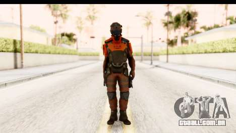 Homefront The Revolution - KPA v2 Red para GTA San Andreas segunda tela