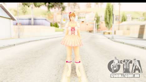DoA 5 - Ultimate Kasumi Pop Idol Team D para GTA San Andreas segunda tela