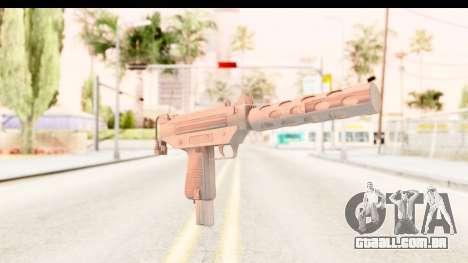 RE2 - Machine Gun para GTA San Andreas segunda tela