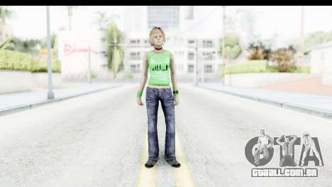 Silent Hill 3 - Heather Sporty Green Evolution para GTA San Andreas segunda tela