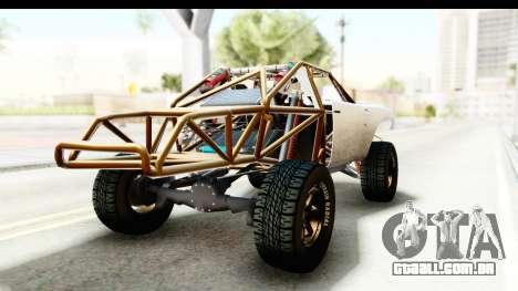 GTA 5 Trophy Truck IVF para GTA San Andreas traseira esquerda vista