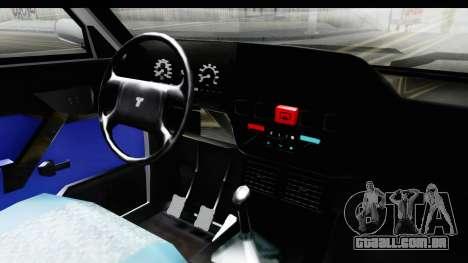 Tofas Dogan para GTA San Andreas vista interior