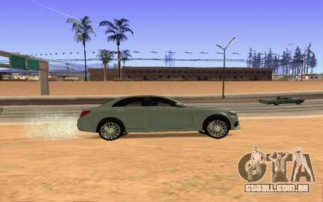 Mercedes-Benz C250 Armenian para GTA San Andreas vista direita