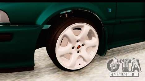 Rover 220 para GTA San Andreas vista traseira