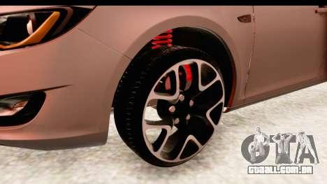 Opel Astra J Tourer para GTA San Andreas vista traseira