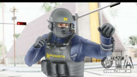 Quantum Break Monarch Operators para GTA San Andreas