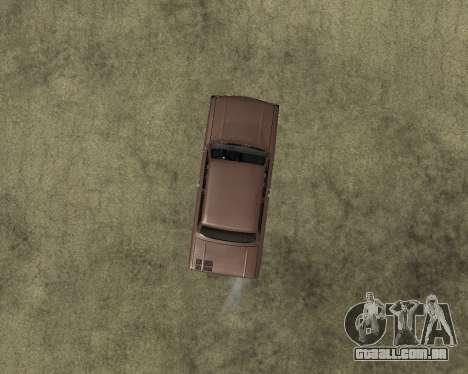 ZAZ 968M Arménia para GTA San Andreas vista traseira