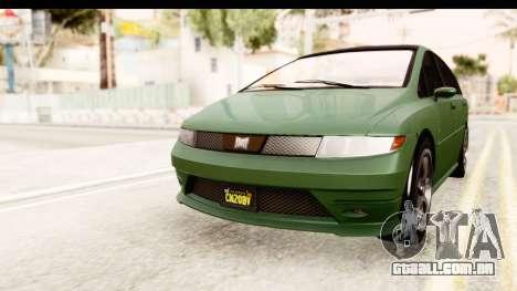 GTA 5 (4) Dinka Perennial para GTA San Andreas traseira esquerda vista