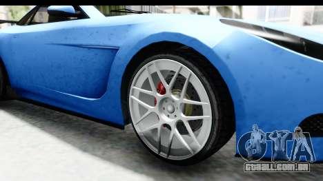 GTA 5 Ocelot Lynx IVF PJ para GTA San Andreas vista traseira