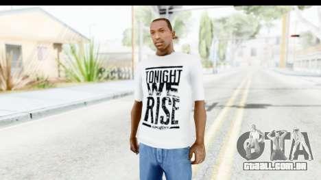 Skillet T-Shirt para GTA San Andreas