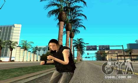 Feminino instrutor da SWAT para GTA San Andreas sétima tela