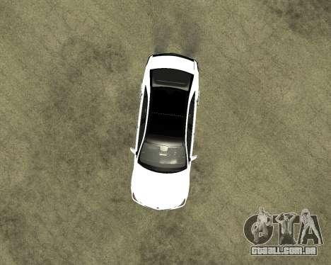 Mercedes-Benz E250 Armenian para vista lateral GTA San Andreas