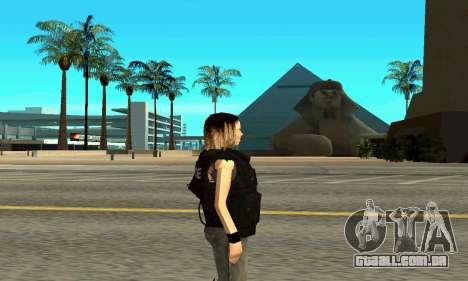 Feminino instrutor da SWAT para GTA San Andreas segunda tela