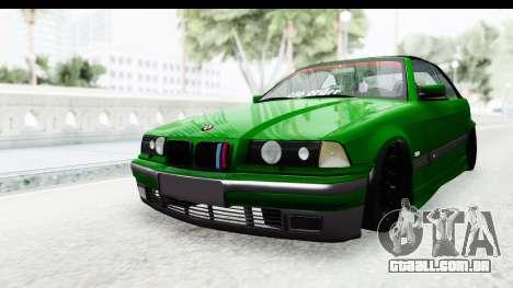 BMW M3 E36 Sloboz Edition para GTA San Andreas vista direita