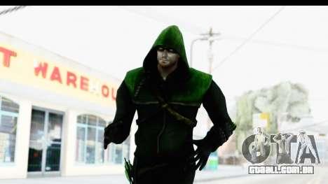 Injustice God Among Us - Green Arrow TV Show para GTA San Andreas