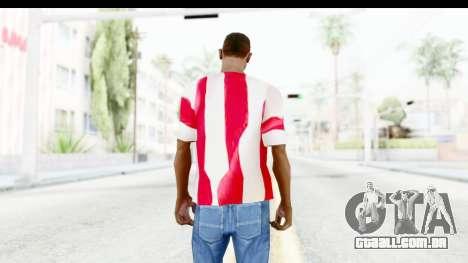 T-Shirt USA Flag para GTA San Andreas terceira tela