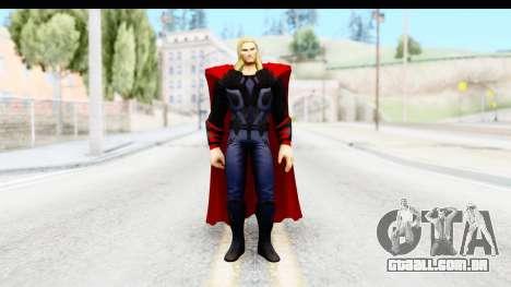 Marvel Heroes - Thor (The Avengers) para GTA San Andreas segunda tela