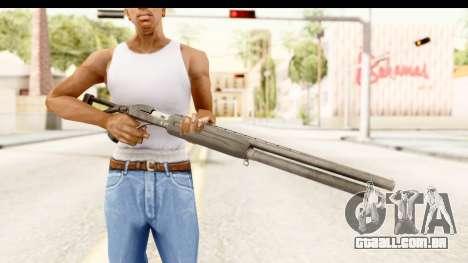 MP-153 para GTA San Andreas terceira tela