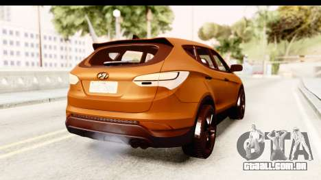 Hyundai Santa Fe 2015 para GTA San Andreas vista direita