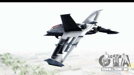 Batman Arkham Origins - Batwing para GTA San Andreas esquerda vista