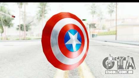 Capitan America Shield AoU para GTA San Andreas