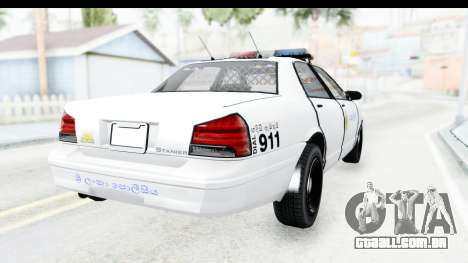 Sri Lanka Police Car v3 para GTA San Andreas vista direita