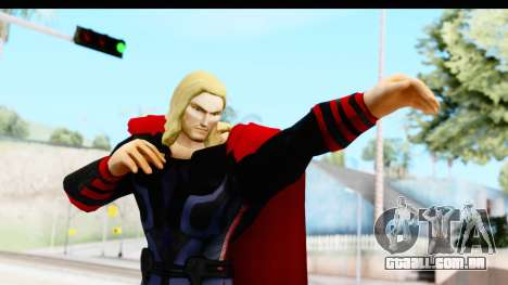 Marvel Heroes - Thor (The Avengers) para GTA San Andreas