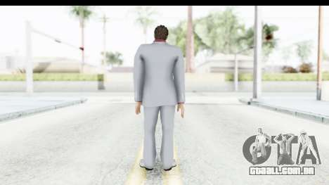 Yakuza 5 Kazuma Kiryu para GTA San Andreas terceira tela