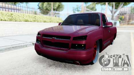 Chevrolet Silverado 2005 Low para GTA San Andreas