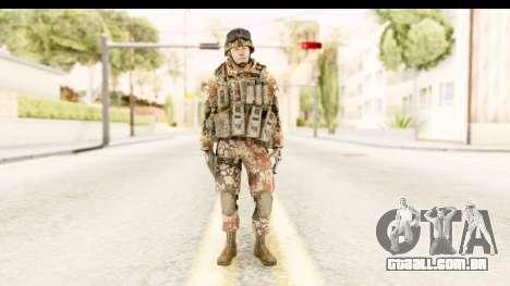 Danish Soldier para GTA San Andreas segunda tela