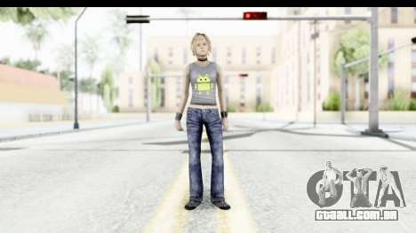 Silent Hill 3 - Heather Sporty Gray Pixel Droid para GTA San Andreas segunda tela