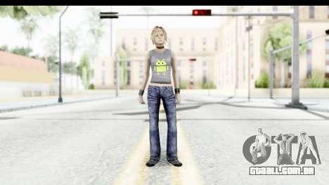 Silent Hill 3 - Heather Sporty Gray Pixel Droid para GTA San Andreas segunda tela