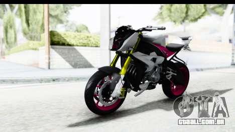 BMW S1000R NICC para GTA San Andreas