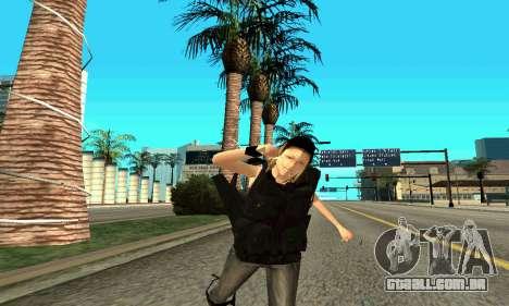 Feminino instrutor da SWAT para GTA San Andreas oitavo tela
